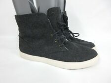 New SUSINA Loring Fab Faux Fur Lined Gray High Top Comfy Sneakers Sz 9.5 M