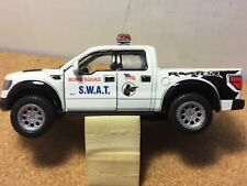 POLICE SWAT BOMB SQUAD FORD F-150 Custom graphics new 1:46 scale by kinsmart