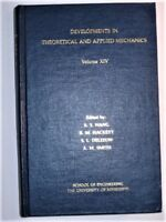 Developments in Theoretical and Applied Mechanics Vol. XIV (1988, Hardcover)