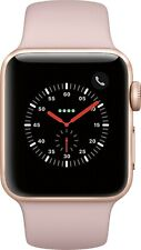 Apple Watch Series 3 GPS + LTE 38MM Gold Aluminum Case Pink Sand Band (SCRATCH)
