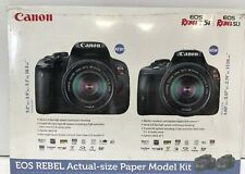 Canon Rebel T5i Eos Paper Model Kit Actual Size Camera Photo Photography Digital