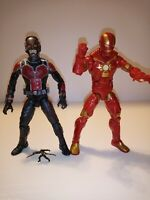 "Marvel Legends Hasbro  6"" Ant-Man & Space Iron Man action figure lot Avengers"