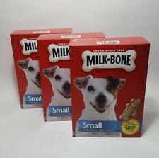 Milk Bone Biscuit Treat Small Dogs 24 Oz Helps Clean Freshen Breath (3 Packs)