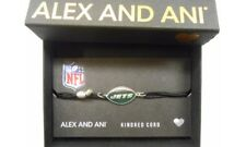 Alex and Ani Kindred Cord New York Jets Bracelet Sterling Silver NWTBC