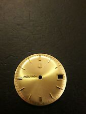 Watch Dial BulovaAccutron 218 28.4 Color Gold Day to 3. 28.50 Mm.