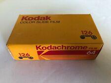 F01_024 Film Kodak 126 Cartridge Kodachrome Color Slide Film 64