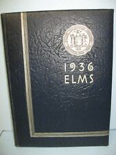 1936 Elms, State Teachers College, Buffalo, New York Yearbook