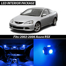 2002-2006 Acura RSX Blue Interior LED Lights Package Kit
