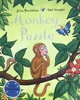 Julia Donaldson Story Book: MONKEY PUZZLE Story - Paperback 2019 - NEW