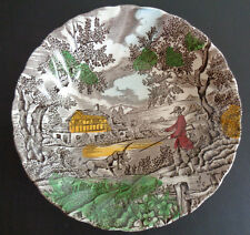 MYOTT - The Hunter - Multicolor - Sauce Bowl Dish 5 1/4 Inches ENGLAND Free Ship