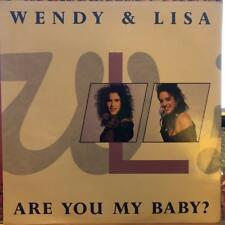 """ARE YOU MY BABY WENDY & LISA 12"""" Single"""
