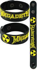 MEGADETH  NEW! Bracelet Wristband aa127 Black/Symphony Of Destruction