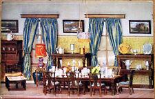1910 Raphel Tuck Postcard: Titania's Palace - Dining Room, Dollhouse