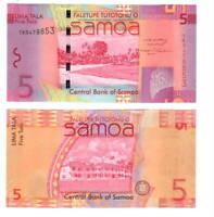 SAMOA 5 Tala (2008) ND P-38a UNC Banknote Paper Money
