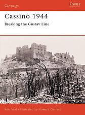 Cassino 1944: Breaking the Gustav Line by Ken Ford (Paperback, 2004)