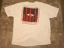 Vintage 90s 1993 Heavyweight Boxing BOWE VS DOKES Worn T-Shirt Adult Size XL