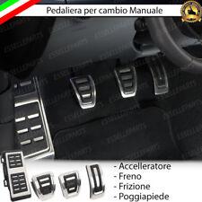 SET PEDALIERA COPRIPEDALI COPRI PEDALI PER CAMBIO MANUALE AUDI A3 8V
