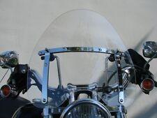 Large 19x17 Windshield for Harley Springer Sportster Dyna Glide Softail FX FL XL