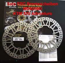 Kit discos de freno Ktm 950 Adventure, LC8, 03-05, EBC MD6266D, Freno Discos