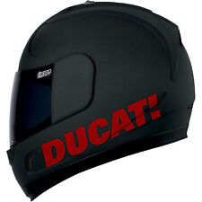 DUCATI STICKERS DECALS FOR HELMET 999 998 848 1098 DIAVEL MULTISTRADA MONSTER