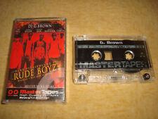 DJ G. BROWN : RUDE BOYZ - Pure Fiya Volume 3  (Tape)  MASTER TAPES