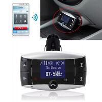 Bluetooth Auto KFZ Transmitter Musik MP3 Player FM Freisprechanlage SD/MMC/USB