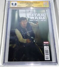 Journey to Star Wars The Force Awakens CGC Signature Autograph HARRISON FORD 9.8