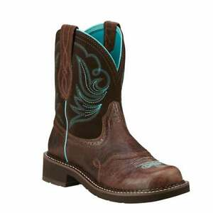 Ariat Fatbaby Heritage Dapper Square Toe   Womens  Western Cowboy Boots   Ankle