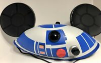 Disney Parks Disneyland Star Wars R2-D2 Mickey Mouse Ears Hat One Size