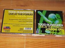 TODD RUNDGREN - LIVE AT THE FORUM 1994 / ESOTERIC 2-CD-SET 2016