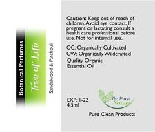 Tree Of Life Botanical Perfume, By Pure Nature 4.5ml Exp 01/2022