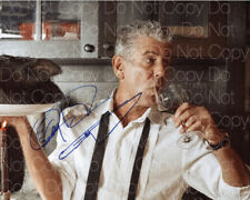 Anthony Bourdain signed photo Top Chef Unknown 8X10 in. picture autograph RP