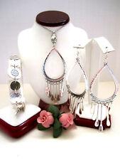 "Brighton ""MARRAKESH OASIS"" Long Necklace-Earring-Bracelet Set (R$204) NWT/Pouch"