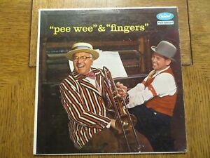 Joe Fingers Carr, Pee Wee Hunt – Pee Wee & Fingers 1956 Capitol T783 LP VG/VG+!!