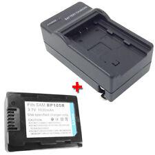 Battery&Charger for SAMSUNG SMX-F50 SMX-F50SN/XAA SMX-F50BN/XAA/F50UN/XAC Camera