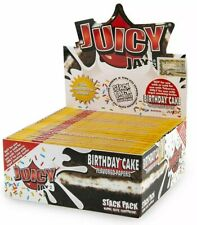 Juicy Jay's King Size Supreme Rolling Papers Birthday Cake 3 Packs 110mm