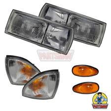 Genuine Front Light Set Head Turn Rep Lamps Mitsubishi Magna TR TS 3/91-3/97