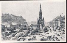 Scotland Postcard - Princes Street, Edinburgh, Looking West   RS3096