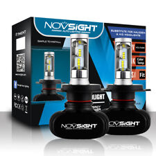 Pair NIGHTEYE Car LED Headlight Replace Bulbs Lamp Hi/Lo Beam 8000LM H4 9003 HB2
