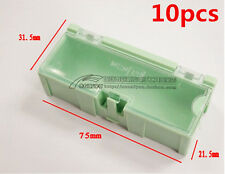 10pcs Anti-static SMT SMD Kit Lab Chip Components Screw Storage Box Case