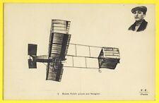 cpa F.F. Paris AVIATION BIPLAN VOISIN piloté par ROUGIER Aviateur Pionnier
