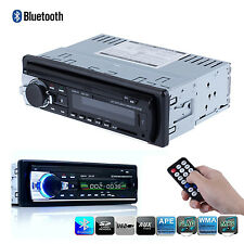 Bluetooth Car Head Unit Stereo Audio In-Dash FM Aux Receiver SD USB MP3 Player