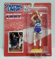 JOHN STOCKTON Utah Jazz Kenner Starting Lineup SLU 1997 NBA Action Figure & Card
