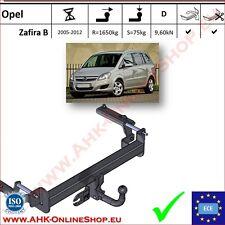 Gancio traino Opel Zafira B 2005-2012 OMOLOGAZIONE | NUEVO