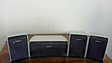 SONY 4 PIECE SPEAKER SYSTEM 2 SURROUND L&R SS-TS31B 1 CENTRE SS-CT31 1 FRONT R
