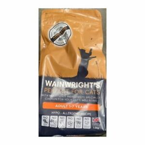 Wainwright's Complete And Balanced Adult Dry Cat Food Turkey And Rice 1.5kg