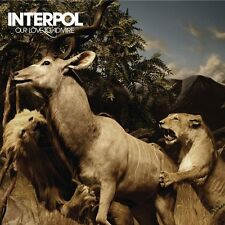 Interpol ‎CD Our Love To Admire - Europe