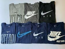 NEW Men's NIKE T Shirt Graphic Tee Just Do It Logo Crew Neck Athletic Fit