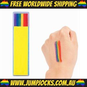 Neon Body Chalk - Glow In The Dark, Rainbow, Party *FREE WORLDWIDE SHIPPING*