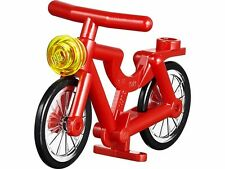 Lego Vélo rouge pour figurine Neuf / Red Bicycle NEW REF 73537